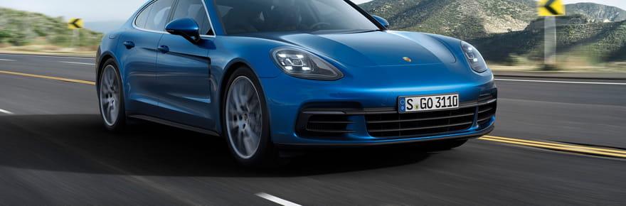 Porsche Panamera : la plus sportive des berlines en images