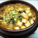 Plat : Les Quatre Saisons  - ragoût de soja -   © soja