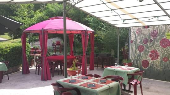 Restaurant : Restaurant Le Relais d'Ayen  - Terrasse -