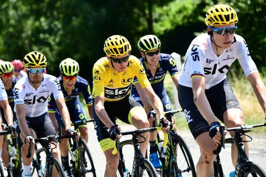 Primes Tour de France 2017: un gain record pour l'équipe Sky