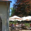 La Gérômoise  - la terrasse sur le parc -   © GS