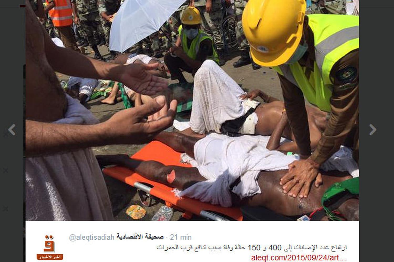La Mecque: lesimages delabousculade mortelle