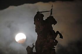 Les plus belles images de l'éclipse de Lune du 21janvier