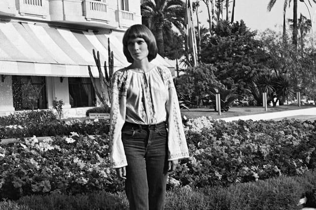 Mia Farrow à Cannes en 1971