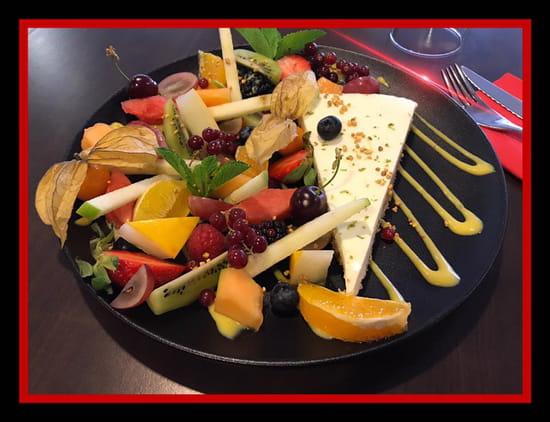 Le Bistronome restaurant Nîmes  - Cheesecake -   © A