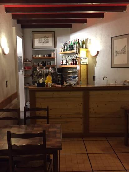 Le Relais du Comte Vert  - Le bar -