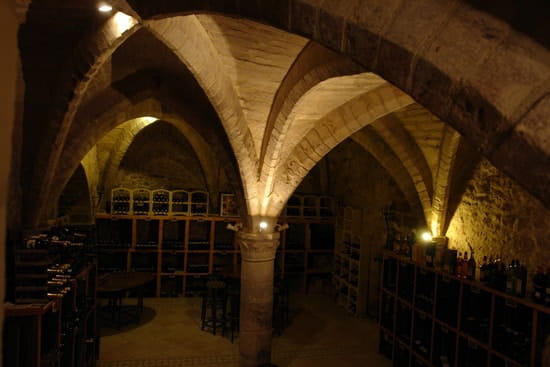 Hostellerie de la Porte Bellon  - Cave voûtée du 13ème -