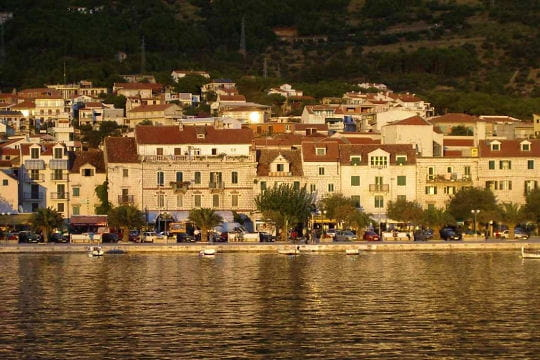 Makarska, paisible village croate