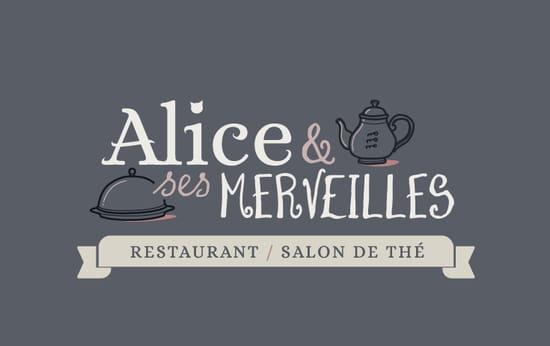 Restaurant : Alice et ses Merveilles  - Logo -   © Alice & ses Merveilles