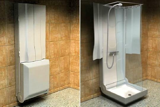 cabine de douche pliable