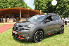 Les photos du Citroën C5 Aircross