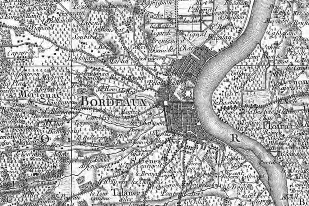 Bordeaux XVIIIe siècle