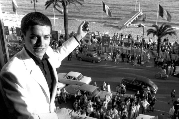 1961 : le premier festival de Cannes d'Alain Delon