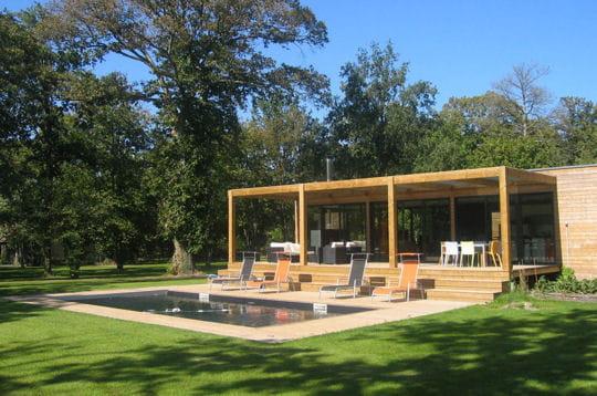 Le palmar s du salon maison bois 2008 for Maison premier prix