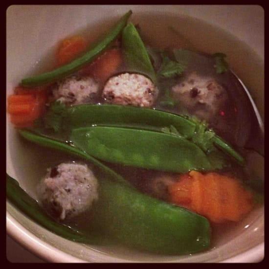 Kapunka  - soupe de boulettes de porc -   © kapunka