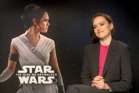 Daisy Ridleyréagit aux révélations sur la parenté de Rey dans Star Wars [Interview]