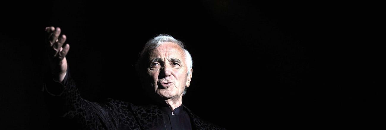 La vie de Charles Aznavour en images