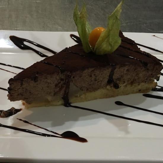 Dessert : Glacier de venise  - Entrer la description de votre photogâteau chocolat poire spécialité de Venise -