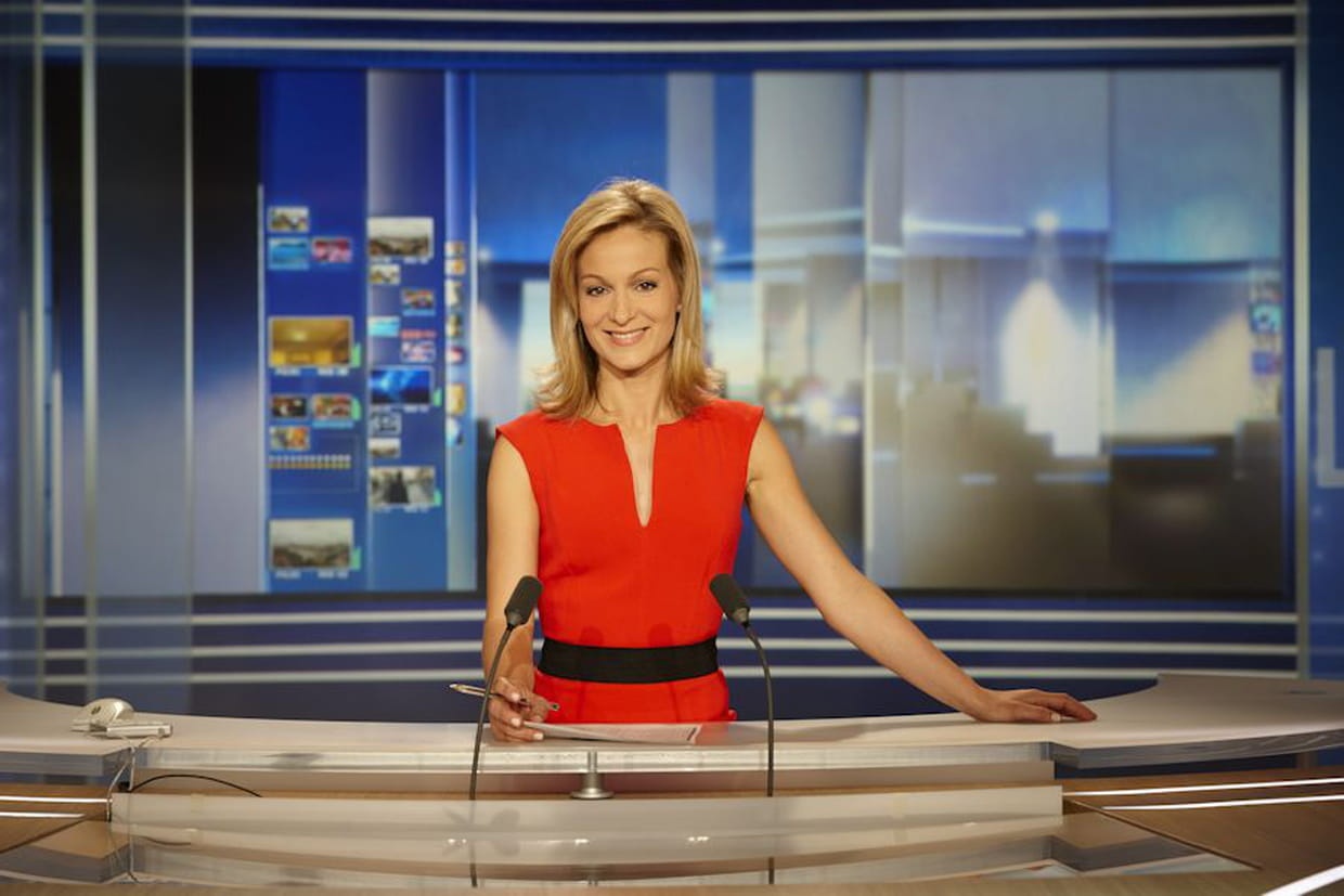 audrey crespo mara qui est la nouvelle journaliste du 20h de tf1. Black Bedroom Furniture Sets. Home Design Ideas