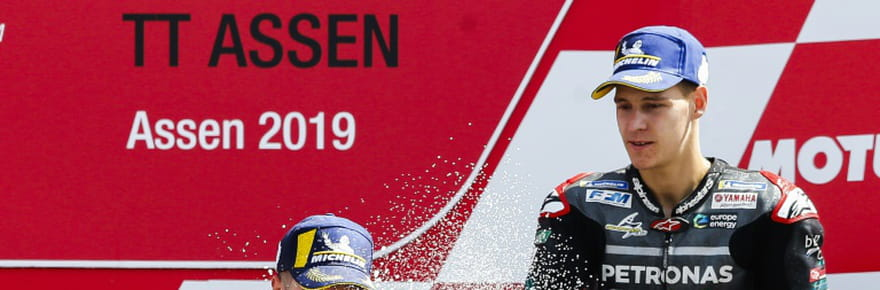 MotoGP: première à Assen pour Vinales, Quartararo à nouveau sur le podium