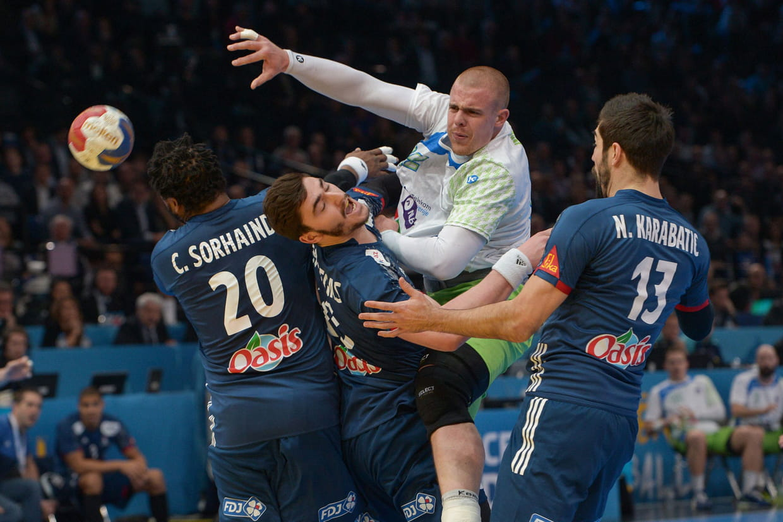 France slov nie victoire des bleus le score et le r sum du match - Diffusion coupe du monde handball ...