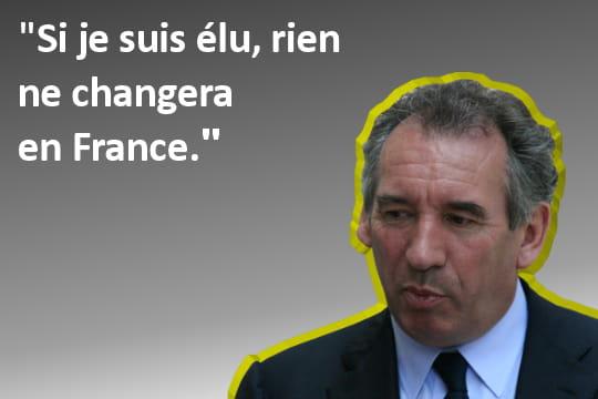 François Bayrou, tout ou rien?