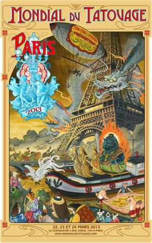affiche mondial du tatouage