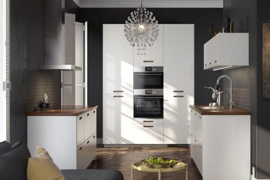 Une cuisine minimaliste - Ikea programme cuisine ...