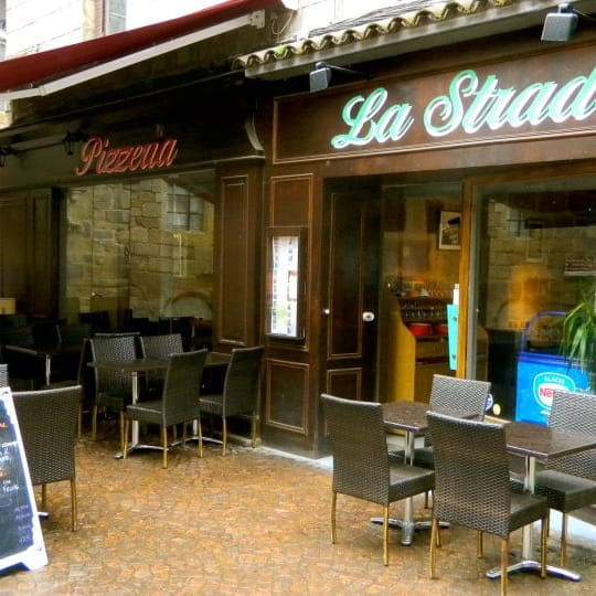 la strada restaurant italien figeac avec linternaute. Black Bedroom Furniture Sets. Home Design Ideas