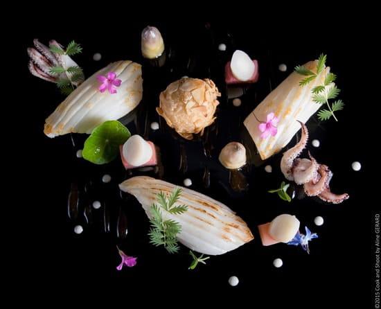 Restaurant Gastronomique des Bories  - Plat -   © Aline Gerard - Cook and Shoot 2015