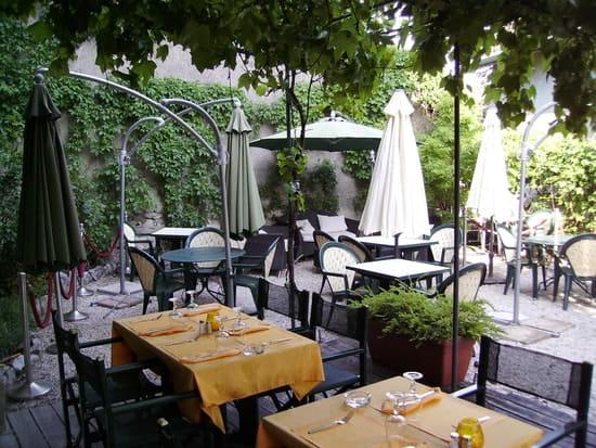 La Petite Cour  - la terrasse -