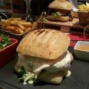 Plat : Le Somail  - Burger Maison Le Calandos  -