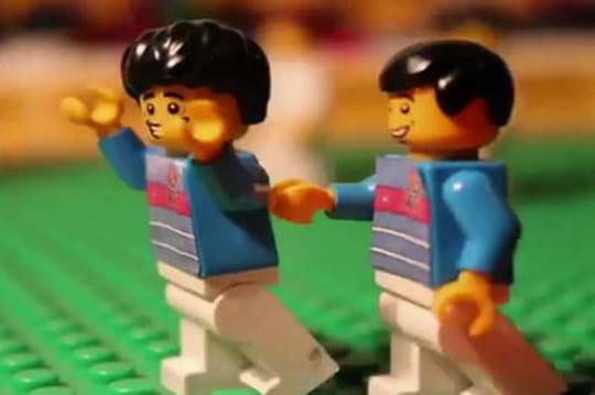 Les meilleurs moments de l'Euro... en Lego