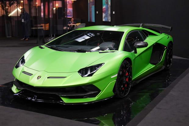 La Lamborghini Aventador SVJ a fait sa première apparition en France