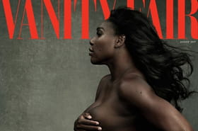 Serena Williams pose nue en Une de Vanity Fair
