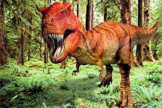 Face à face avec le T-Rex