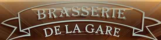 La Brasserie de la Gare (Hôtel Lamartine**)  - Logo -   © Frederic Boby