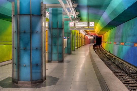 Station Candidplatz, métro de Munich