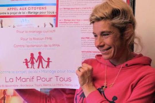 """Frigide Barjot: """"Est-ce qu'on demande del'argent àlaGay Pride pour nettoyer lesrues?"""""""