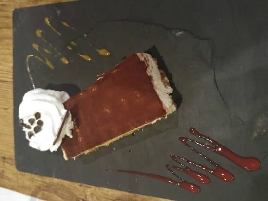 Dessert : Le Bistronomique  - tiramisu du chef  -