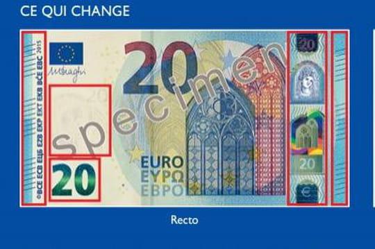 Nouveau billet de 20 euros : ce qui change