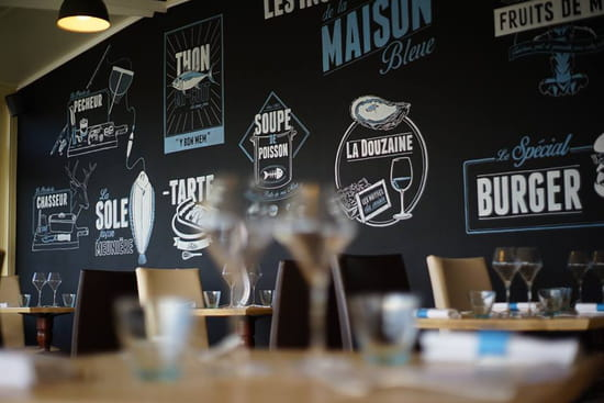 Restaurant : La Maison Bleue  - Mur du gout -   © ok