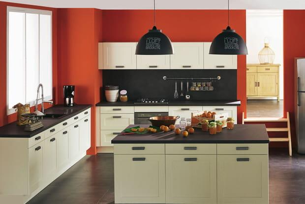 lot de cuisine sienne d 39 alin a. Black Bedroom Furniture Sets. Home Design Ideas