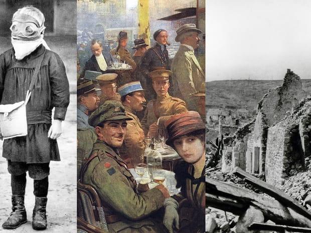 Les images les plus saisissantes delaPremière guerre mondiale