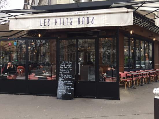 Restaurant : Les Ptits Gros Diderot  - Façade -   © NZ
