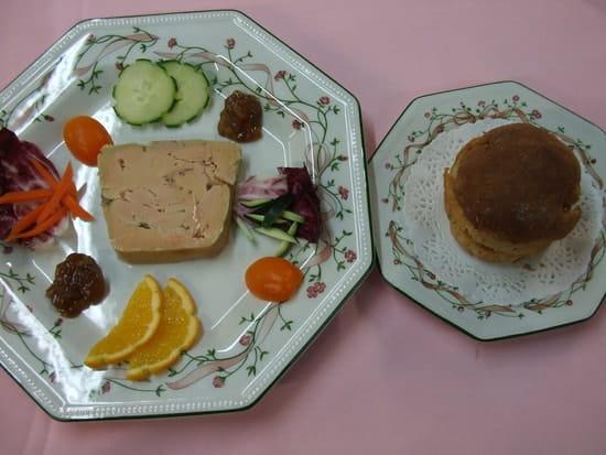 Restaurant la Ciboulette  - Foie gras frais Maison et sa brioche -