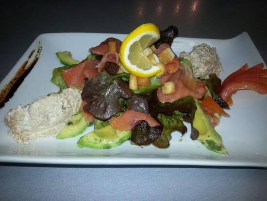 Plat : Restaurant le M  - Salade Mediteranneene -