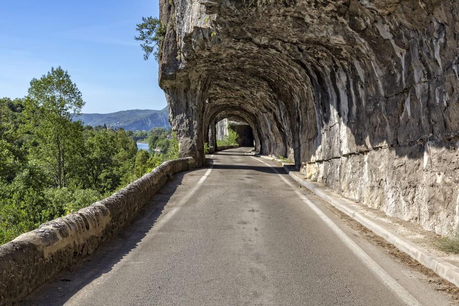 La route touristique des Gorges de l'Ardèche