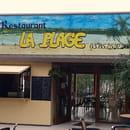 Restaurant La Plage du Rousset  - Nouvelle enseigne du restaurant -   © Uriel Dejou