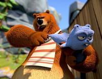 Grizzy et les lemmings  : Ours dans le vent